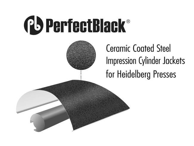 PerfectBlack impression cylinder jackets