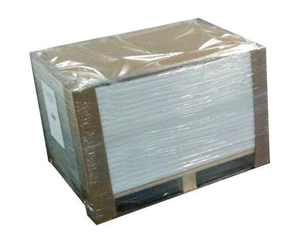 White adhesive cardboard removable 280gr  (acid free) sku:AR804
